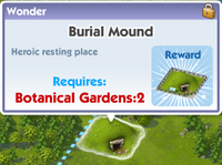 Wonder burial mound