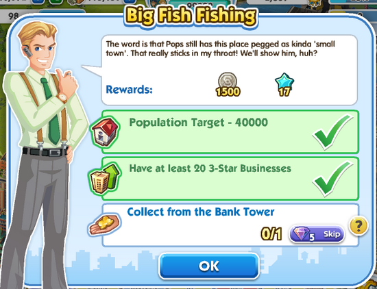 Quest - Big Fish Fishing