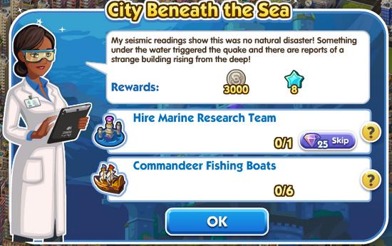 Quest - City Beneath the Sea