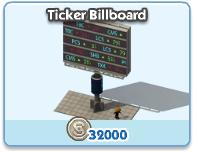 Ticker Billboard