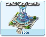 Martini Glass Fountain