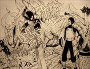 Uchiha madara vs hashirama senju by minhquach94-d5anumo