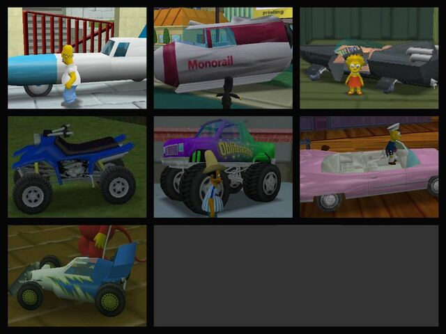 File:Simpsons hit and run bonus cars.jpg