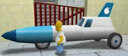 Rocket Car - The Simpsons: Hit & Run - Wikia