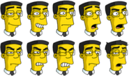 The Simpsons Frank Grimes Grimey Icons in Tapped Out