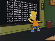 Dumbbell Indemnity Chalkboard Gag