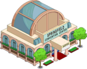 Springfield Convention Center Tapped out