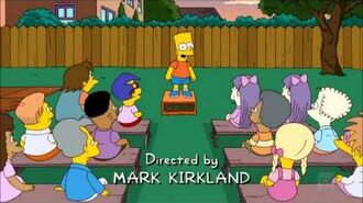 The Simpsons S21E02 Bart Gets a 'Z' - Edna Drunk