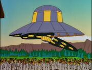Movimentarian's spaceship