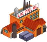 Ajax-steel-mill Tapped Out
