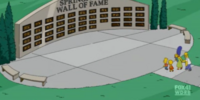 Springfield Wall of Fame