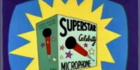 Superstar Celebrity Microphone