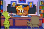 Bart the genius Albert Einstein