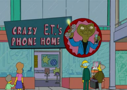 Crazy e.t.'s phone home