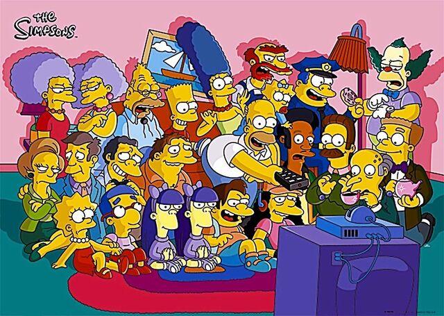 File:Simpsons group.jpg