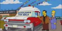 1959 Cadillac DeVille Ambulance