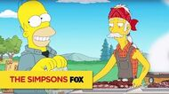 "THE SIMPSONS Charred And Moist from ""Cue Detective"" ANIMATION on FOX"