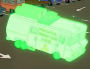 Nuclear Inspector Van Green