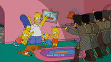 Russian Art Couch gag
