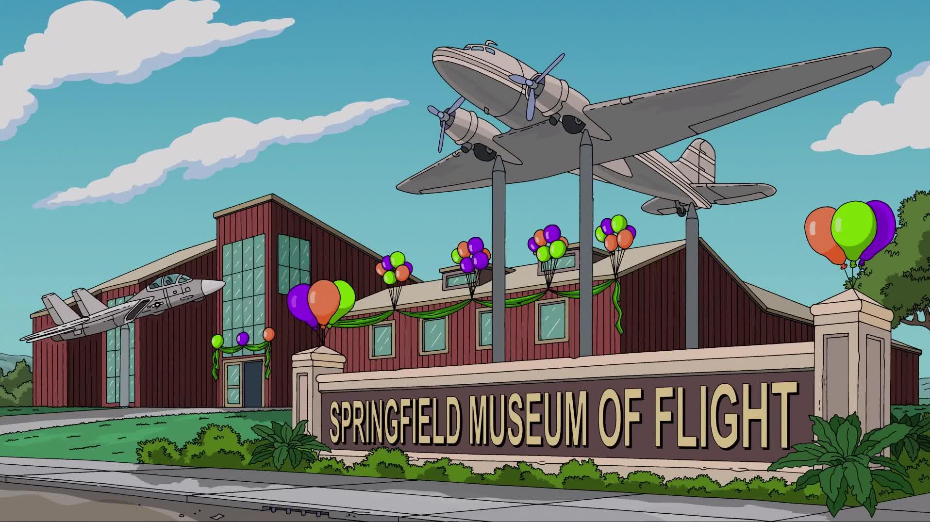 Springfield Museum of Flight Simpsons Wiki FANDOM powered by Wikia