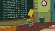 Bart Gets a Z Chalkboard Gag
