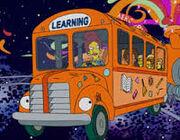 The Simpsons Magic School Bus