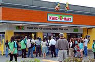The Simpsons Movie Premiere Kwik-E-Mart taking over Seven Eleven