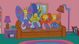 Lost in Daycare Couch Gag