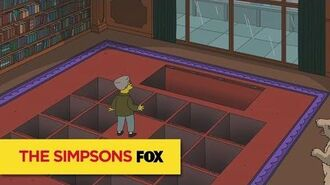 "THE SIMPSONS Installation from ""The Burns Cage"" ANIMATION on FOX"