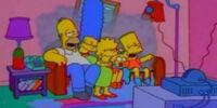 Burning Family couch gag