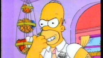 The Simpsons promo (TEN-10, 8 10 92)