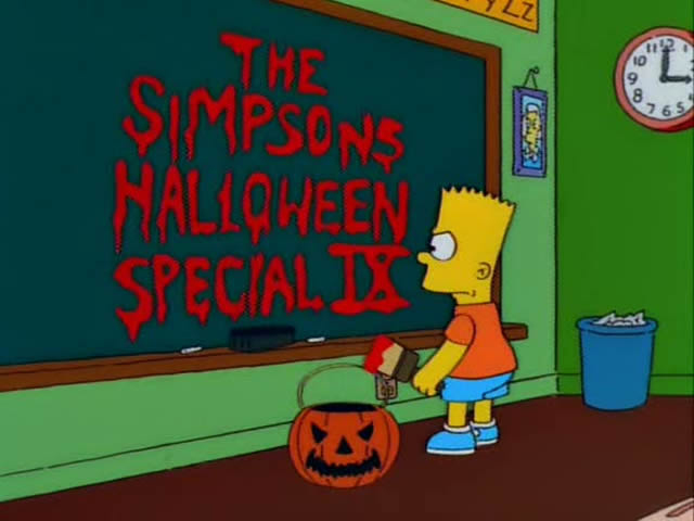 Image result for the simpsons treehouse of horror ix