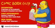 Comic Book Guy-Every Simpsons Ever