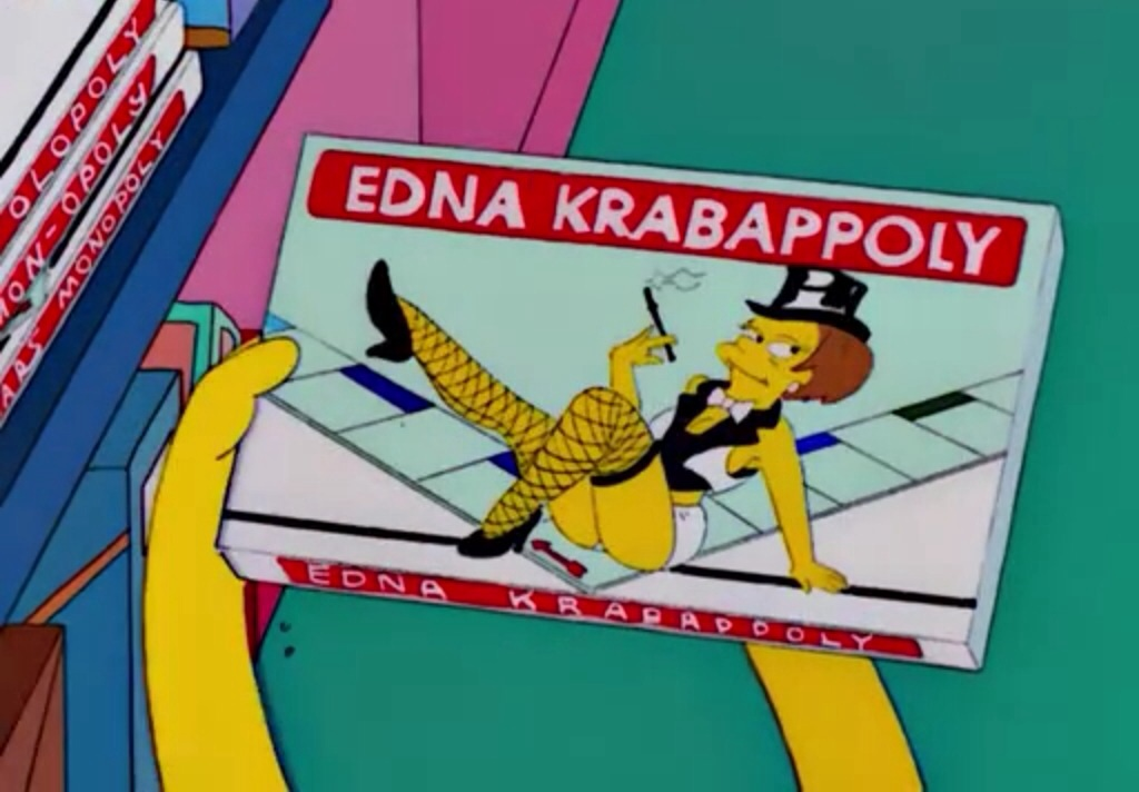 Résultats de recherche d'images pour «Edna Krabappel»