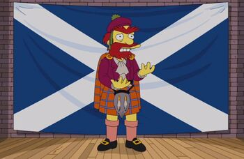 Groundskeeper Willie's Views On Scottish Independence