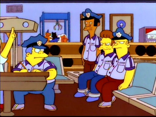 Springfield police framers simpsons wiki fandom powered by wikia - Police simpsons ...