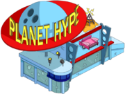 Planet hype Tapped Out