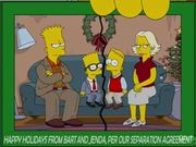 Jenda wiki les simpson fandom powered by wikia - Bart et milhouse ...