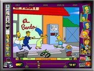 Cartoon Studio Screen Kwik-E-Mart Chase