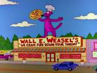 Wall e. weasel's