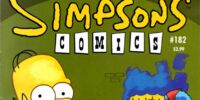 Simpsons Comics 182