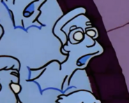 The Simpsons Frank Grimes Grimey in Treehouse of Horror XII