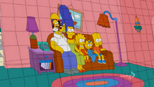 Picture Frame Cards Couch Gag