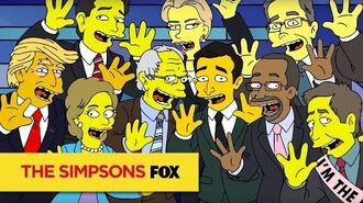 THE SIMPSONS The Debateful Eight ANIMATION on FOX