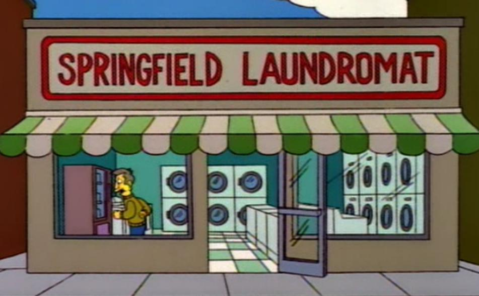springfield laundromat simpsons wiki fandom powered by