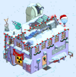 Tapped Out Christmas Frink's Lab