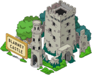 Blarney castle tapped out