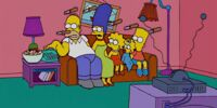 Knives couch gag