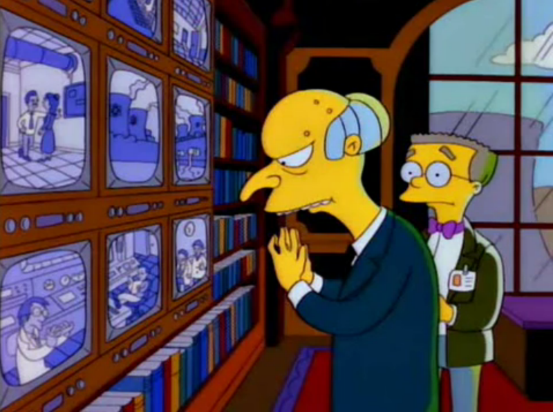 The Simpsons, Mr. Burns : Release The Hounds. - YouTube
