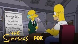 Homer Helps Mr. Burns Seek Revenge Season 28 Ep. 12 THE SIMPSONS